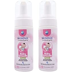 Winova Baby Smooth, Alcohol Free Baby Hand And Body Sanitizer (150ml) Pack Of 2