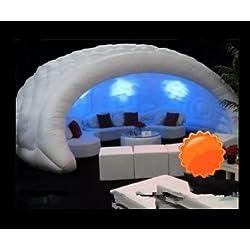 BAOSHISHAN gr-tech Instrumento® Hot Sale nuevo inflable Bar Tienda de campaña con luz LED y soplador 220 V o 110 V