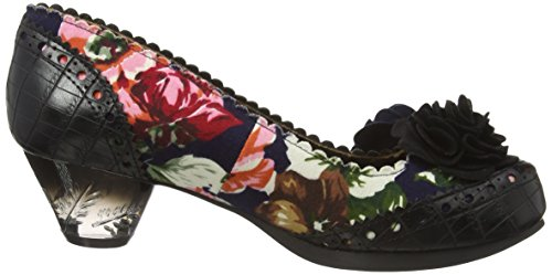Irregular Choice Damen Fantastic Low Pumps Black (Black Floral)