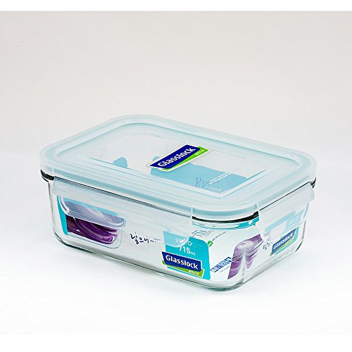 Glasslock Korea Airtight Break Resistant Glass Kitchen Food Storage Container, Lunch Box, Microwave Safe, 715 ml