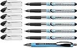 Schneider Slider Basic XB 6 Stück und 1x Slider Rave XB Kugelschreiber mit Etui. Schreibfarbe schwarz