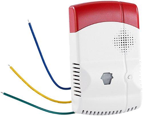 VisorTech Zubehör zu Einbruchmeldeanlagen: Gasmelder für XMD-110/-3200.pro/-4800.pro (GSM Alarmanlage)