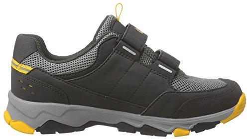 Jack Wolfskin Mtn Attack 2 Low Vc K, Chaussures de randonnée mixte enfant Gris (Burly Yellow)
