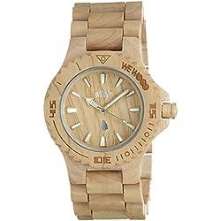 WeWood Womens Date Beige Wooden Strap 70304200