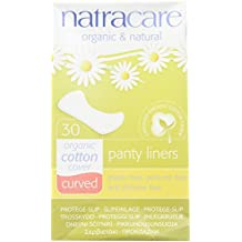 Natracare Panty Liners Curved 30 unidades (2 paquetes)