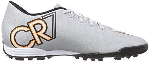Nike - Mercurial Vortex Ii Cr Tf, Scarpe Da Calcio da uomo Grau (Mtllc Silver/Blk-Hypr Trq-Blk)