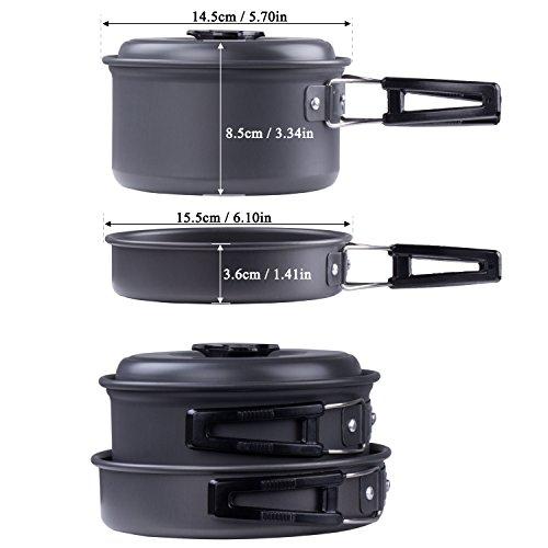 Kit de cuisine en camping diealles ustensiles de cuisine for Kit ustensiles cuisine