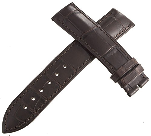 Corum Authentic braun Leder Uhrenarmband 19 mm H1150