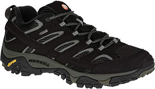 Merrell Moab 2 GTX, Zapatillas de Senderismo para Hombre, Negro Black, 44 EU
