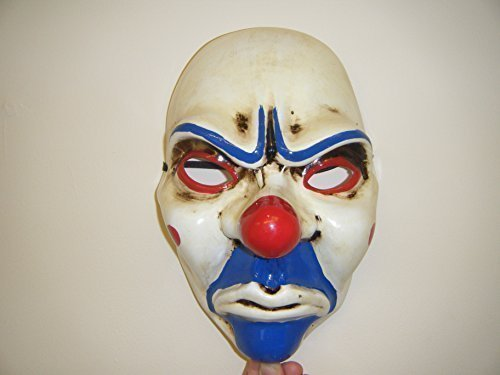 ist 2 Maske – Payday – Fancy Dress Up Wrestling Erwachsene Cosplay (Räuber Halloween-maske)