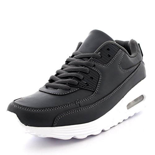 Herren Schuhe Konstrukteur Sports Gehen Laufen Beiläufig Büro Ausbilder Grau