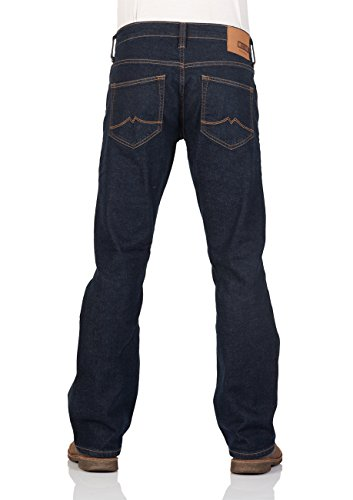 Mustang Herren Jeans Oregon - Bootcut - Blau - Light Blue - Mid Blue - Dark Blue Dark Blue (940)