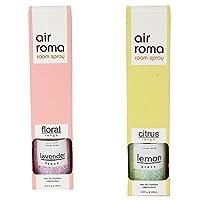 AirRoma Combo of Lavender Fresh Fragrance Air Freshener Spray 200 ml & Lemon Grass Fragrance Air Freshener Spray 200 ml