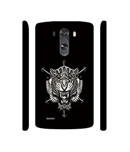 NattyCase Abstract Lion Design 3D Printed Hard Back Case Cover for LG G3 Mini