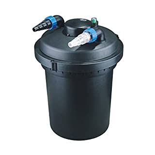 Aquaristikwelt24 Bio Teichfilter 12000l CPF 380 Druckteichfilter Druckfilter Bachlauf UVC Klärer