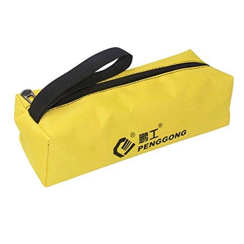 Baoblaze Oxford Werkzeugtasche Werkzeugrolltasche Rolltasche Werkzeug Tasche mit Reißverschluss