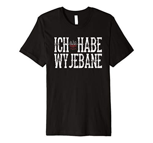 Polen-ich-habe-wyjebane t-shirt herren, damen sprüche