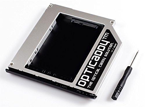 Opticaddy© SATA-3 HDD/SSD Caddy Adattatore per HP Elitebook 2530p 2540p