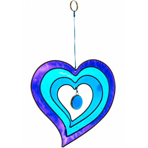 colourful-heart-shaped-hanging-suncatcher-handcrafted-home-and-garden-ornament-blue