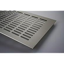 Grille d'Aération Plaque De Ventilation En Aluminium - acier inoxydable anodisé