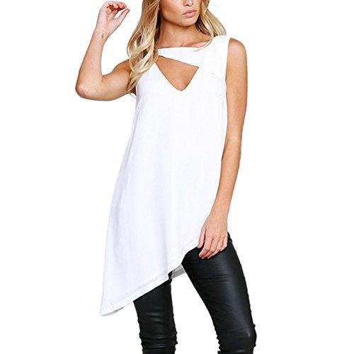 Damen Lose Top Sleveeless Frauen Bluse Damen Casual Tank Tops T Shirts Hemd Sweatshirt Oberteil