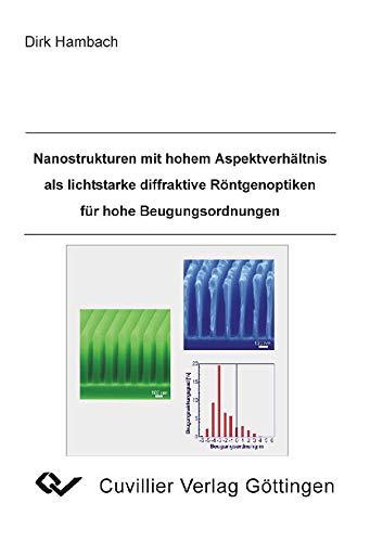 Nanostrukturen mit hohem Aspektverhältnis als lichtstarke diffraktive Röntgenoptiken für hohe Beugungsordnungen