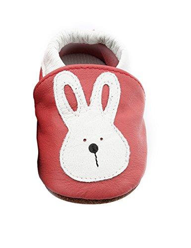 BONAMART ® Baby Junge Mädchen Schuhe Krabbelschuhe Kleinkinder Karikatur Kaninchen