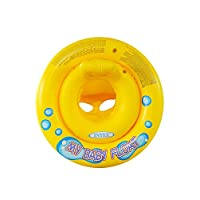 Intex My Baby Float Inflatable Swimming pool tube Raft, Float Ring Aid Swim Seat 1-3 Ages, 59574