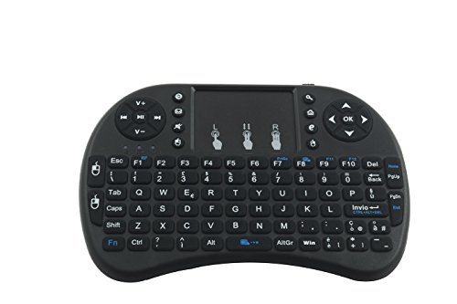 Mini Tastatur QWERTY Fernbedienung Bluetooth Maus Touchpad PC Android TV Tablet