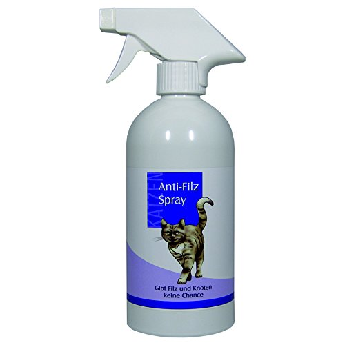 Hartes Haar Spray (FellOn Anti Filz 500 ml für Katzen | Entfilzungsmittel | Entfilzungsspray | Entfilzung für Katzen | Fellentfilzung)