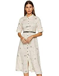 Akkriti By Pantaloons Cotton a-line Dress