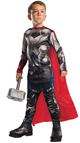 Rubie's IT610432-M - Costume Thor Avengers 2 Classic, Taglia M (5-7 anni) 72 Cm-132 Cm