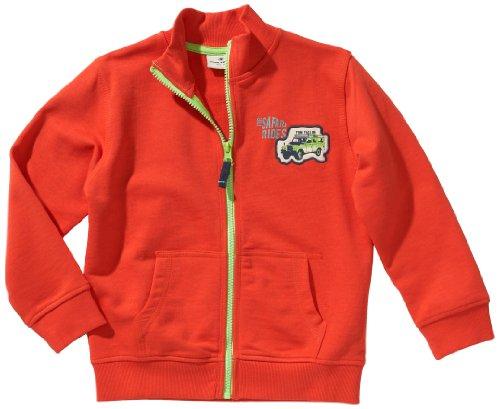 TOM TAILOR Kids Jungen Sweatshirt 25152770082/sweatjacket safari rides, Gr. 92/98, Rot (4227 fresh red) Ride Herren Pullover