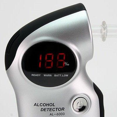 Digitaler Alkoholtester ACE AL6000 Professional mit Wechselsensor - 3