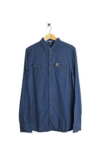DC -  Camicia Casual  - Maniche lunghe  - Uomo blu Medium