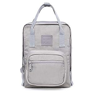 41ClUA47geL. SS300  - MOREPURE Mini Bolso Mochila pequeño, Cabe un iPad de 10 Pulgadas, 30x22x12,6 cm, Rosa Milenario