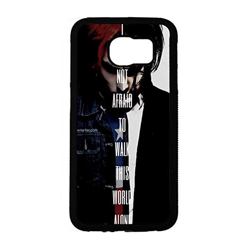 Coque Samsung Galaxy S6 Band MCR Cover Shell Cool Personalized Gerard Way Alternative/Indie Rock Band My Chemical Romance Phone Case Cover for Coque Samsung Galaxy S6,Cas De Téléphone