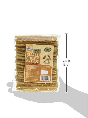 Good-Boy-Rawhide-Dog-Treat-Small-Chomp-Stix-115mm-x-59mm-Pack-of-100