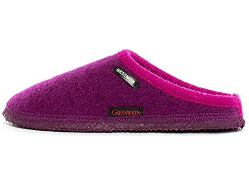Giesswein Unisex-Erwachsene Dannheim Pantoffeln, Violett (Schiefer), 36 EU