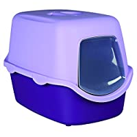 Trixie Vico Cat Litter Tray with Dome (Purple/Lilac)