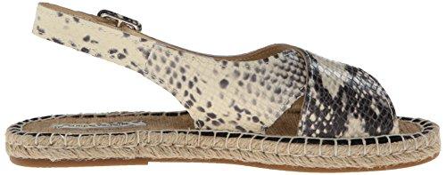 La Leder Sandale Animal Pour Print Victoire Natural Olivia Slingback 76qfdOAn