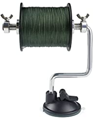 Booms Fishing LR1 Line Spooler Adjustable for Varying Spool Sizes