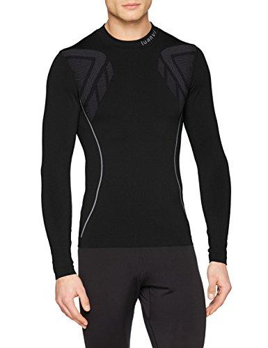 Luanvi Sahara Camiseta térmica, Hombre, Negro, XL