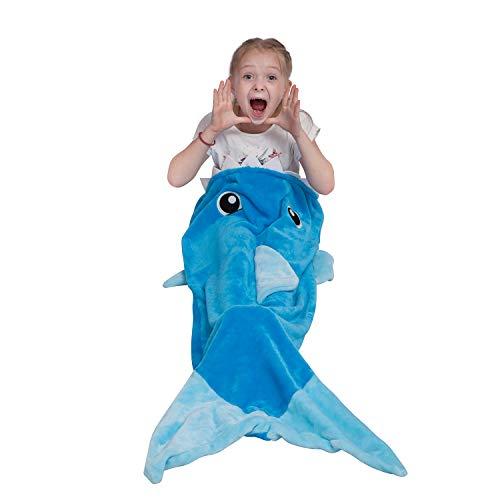 Softan Manta de tiburón para niños