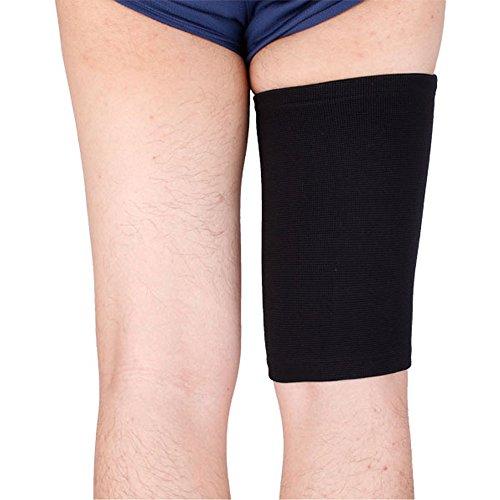 horrenstm-size-l-m-s-black-nylon-elastic-sport-leggings-basketball-leg-sleeve-pad-fitness-thigh-leg-
