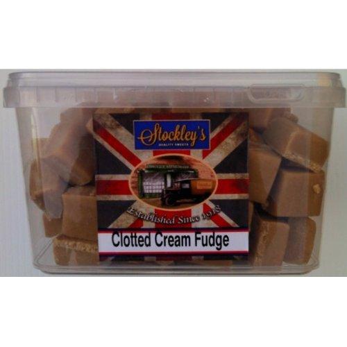 Crème épaisse Fudge remous de Stockley - 2 kg