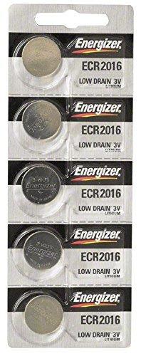 Energizer CR2016 Lithium Battery, 5-Pk