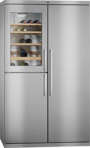 AEG - Frigorifero side by side RXE 75911 TM finitura acciaio inox ...