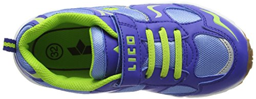 LicoBob VS - Scarpe Sportive Indoor Ragazzi Blau (blau/lemon)