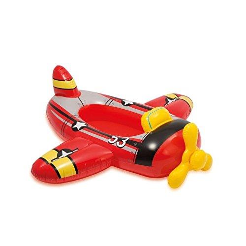 Intex Rot Flugzeug Kinder Aufblasbar Ritt Am Pool Cruiser Strand Schwimmend Spielzeug